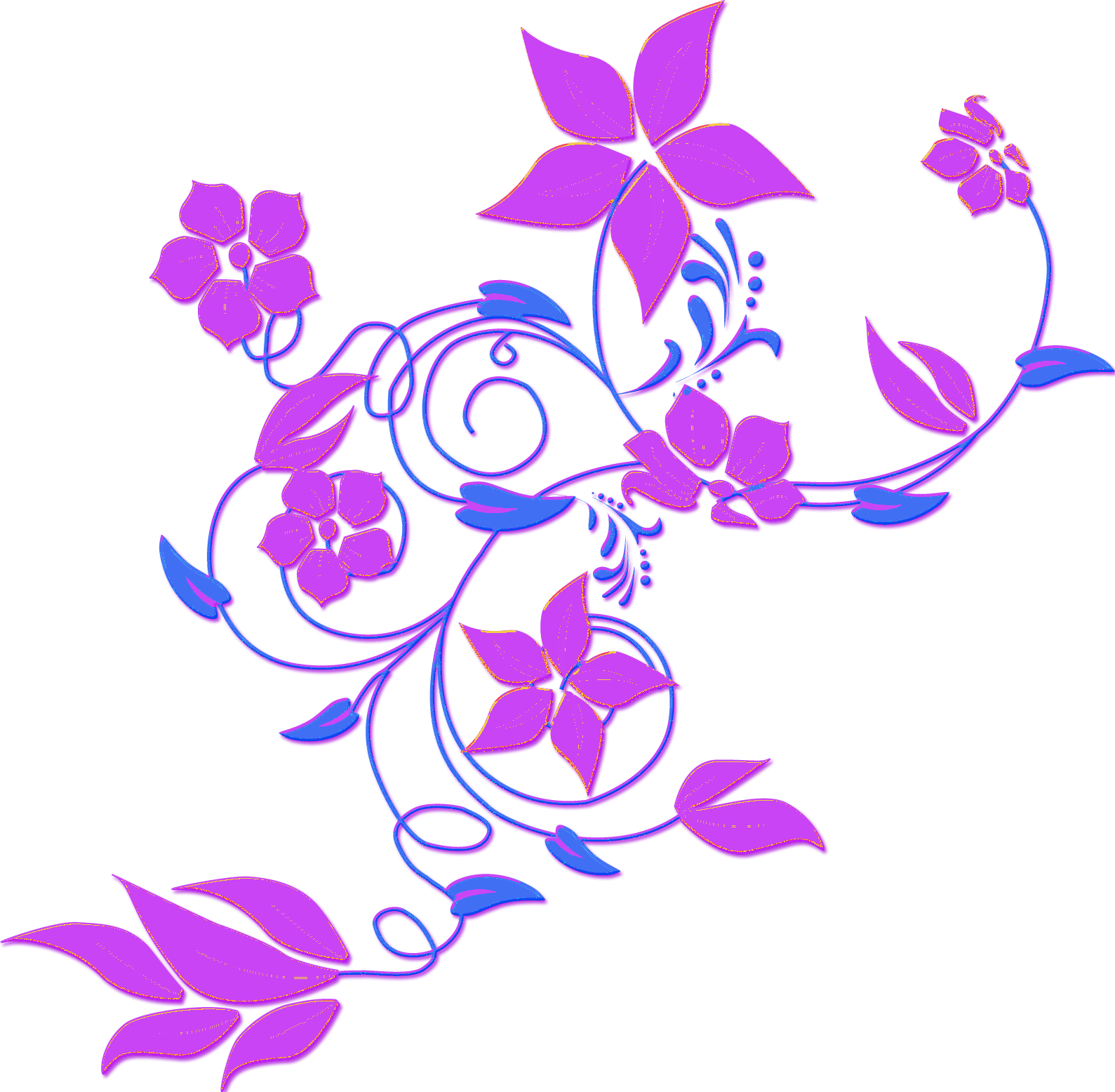 vector clipart flowers - photo #4