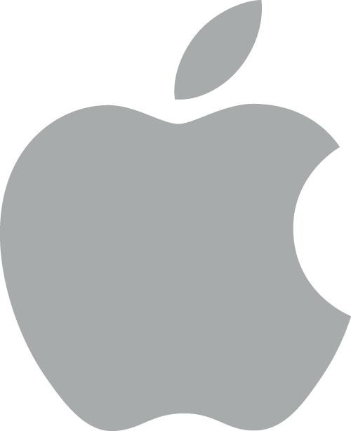 apple logo clipart - photo #3