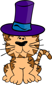 Cat In The Hat Clip Art Free - ClipArt Best