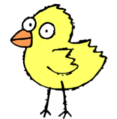 Download free printable Cute Baby Duck Coloring Pages to