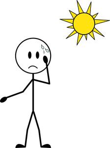 Hot Sun Cartoon - ClipArt Best