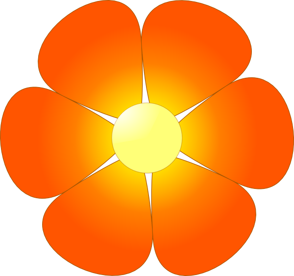 11 single flower cartoon free cliparts that you can download to you ...