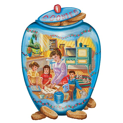 Filling The Cookie Jar 750 Piece Jigsaw Puzzle