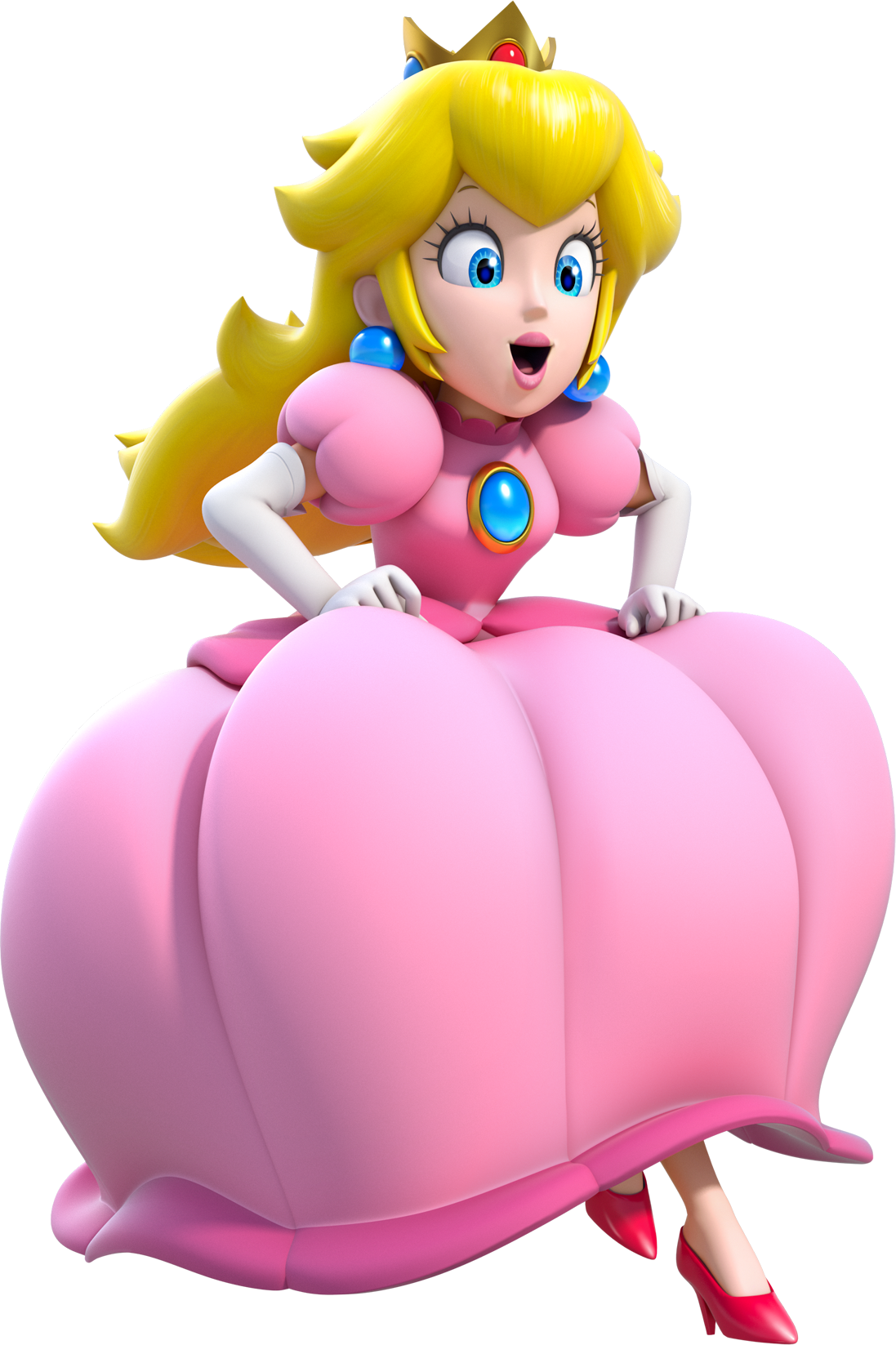 Image - Princess Peach Artwork (alt) - Super Mario 3D ...