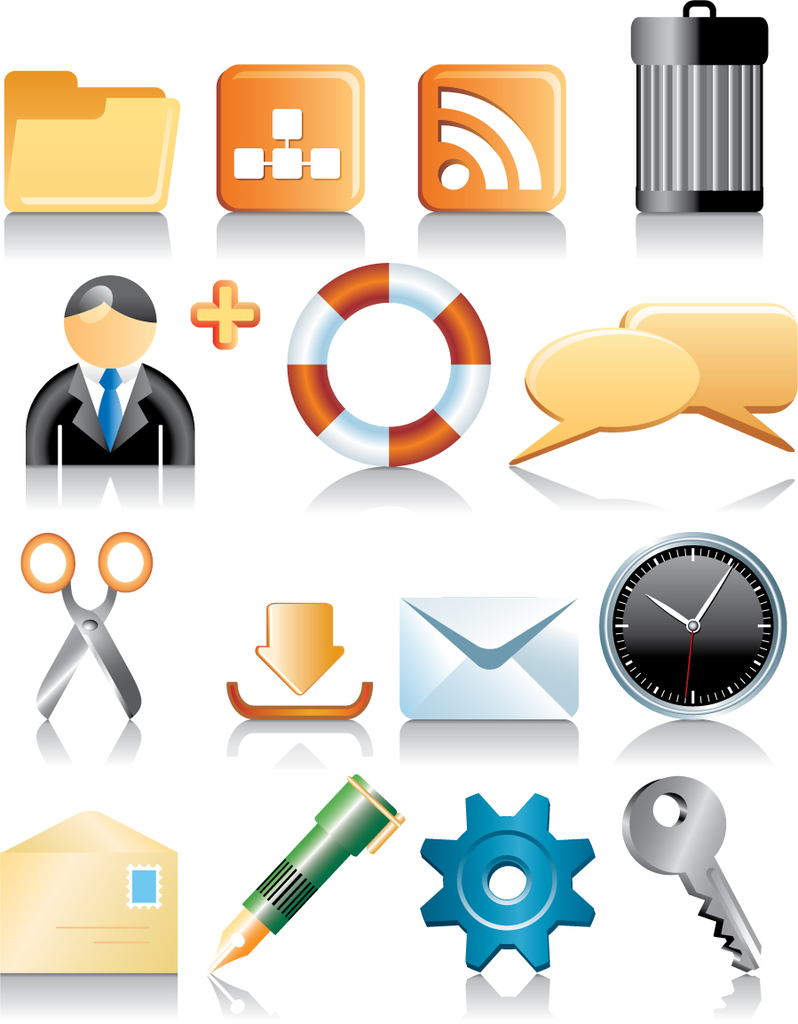 Free Computer Icon Vector Download Clipart Best