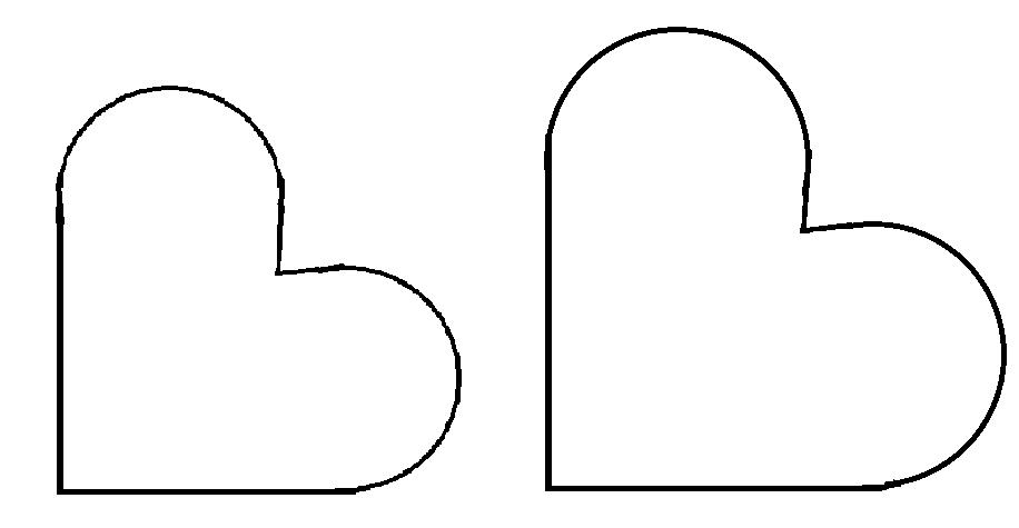 Heart Template Cut Out - ClipArt Best