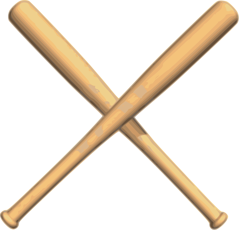 Vector Baseball Bat - ClipArt Best