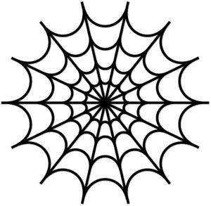 spider web stencil clipart best. Black Bedroom Furniture Sets. Home Design Ideas