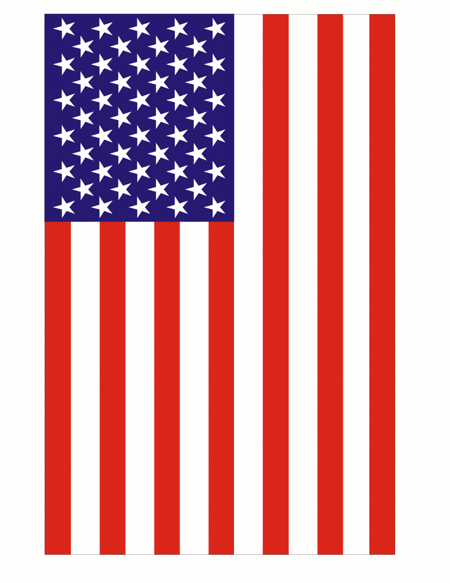 free animated clip art american flag - photo #30