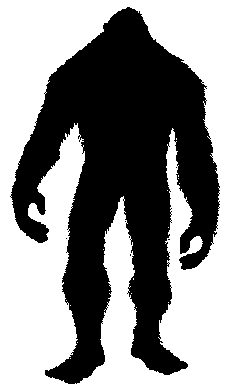 bigfoot outline - photo #19