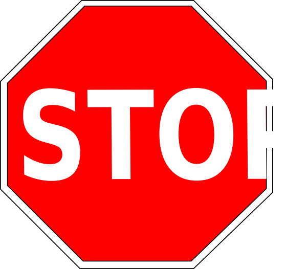 Stop Sign Clip Art Vector Clip Art Online Royalty Free