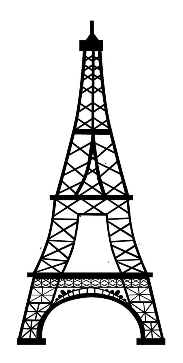 Line Drawing Eiffel Tower : Eiffel tower line drawing clipart best