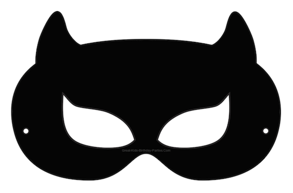 Painted Black Cat Faces