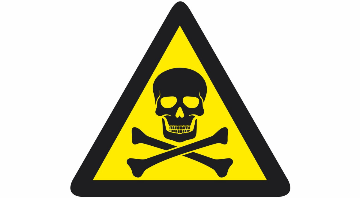 Skull Danger Sign - ClipArt Best