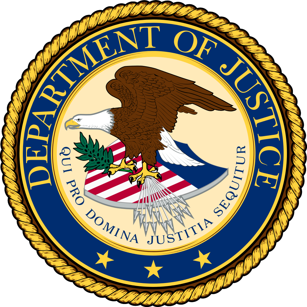 Seal Of Department Of Justice - ClipArt Best