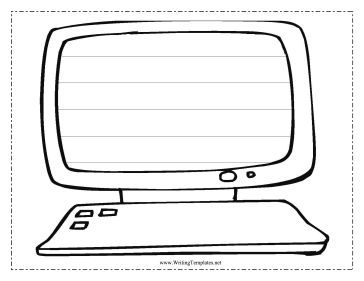 coloring pages keyboard computer | Printable Keyboard For Kids - ClipArt Best
