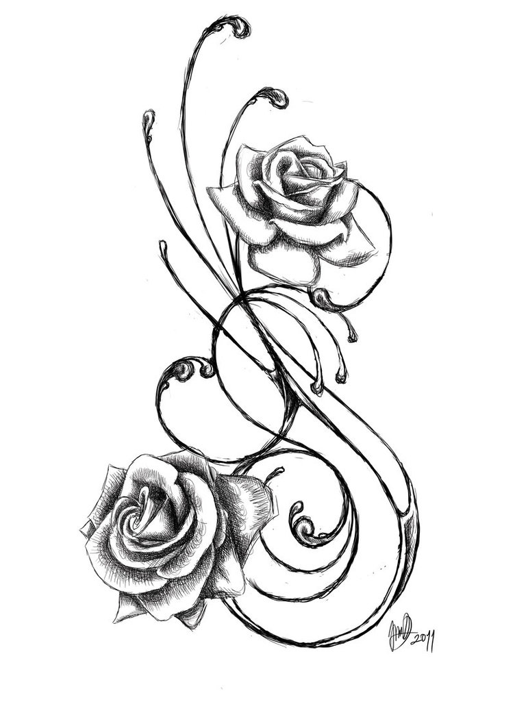 tattoo bilder rosen clipart best. Black Bedroom Furniture Sets. Home Design Ideas