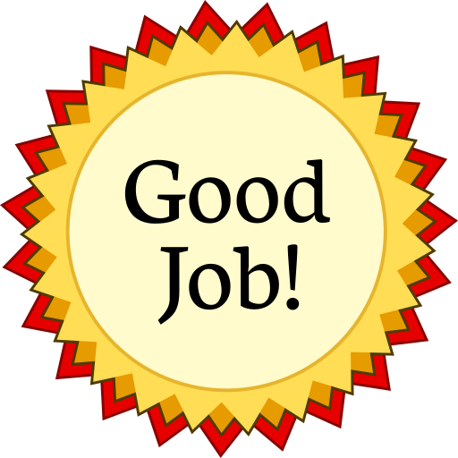 free clip art for great job - photo #23