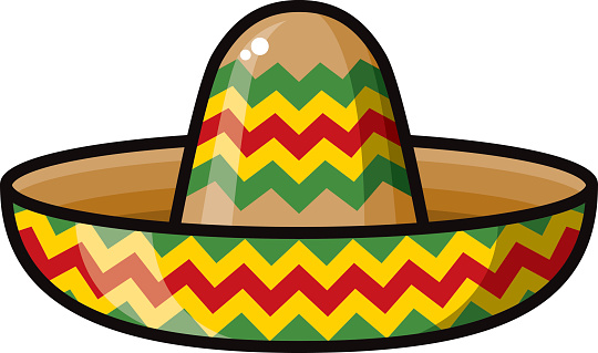 clip art mexican hat - photo #26