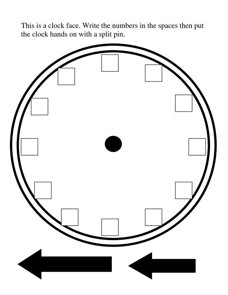 blank analog clock clip art - photo #28