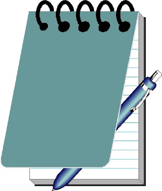 Clip Art Notepad Clipart notepad clipart best and pen clipart