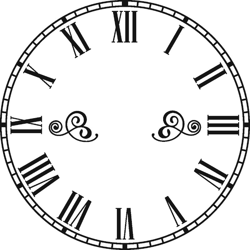 Clock Numbers Clipart Best