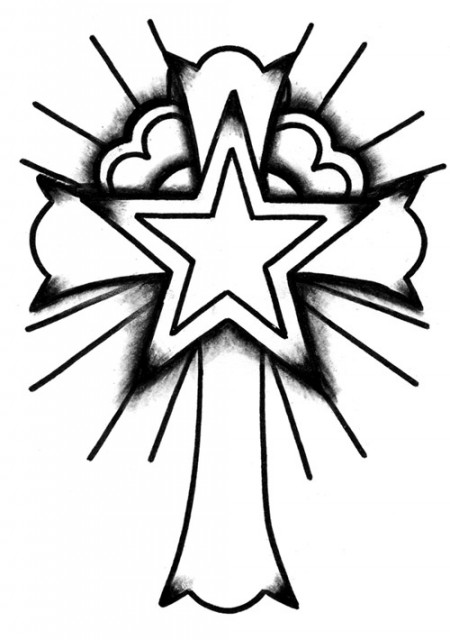 Cool Crosses To Draw Clipart Best