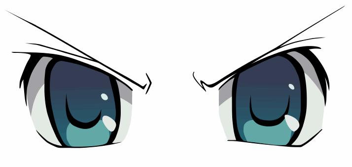 anime eyes clipart - photo #23