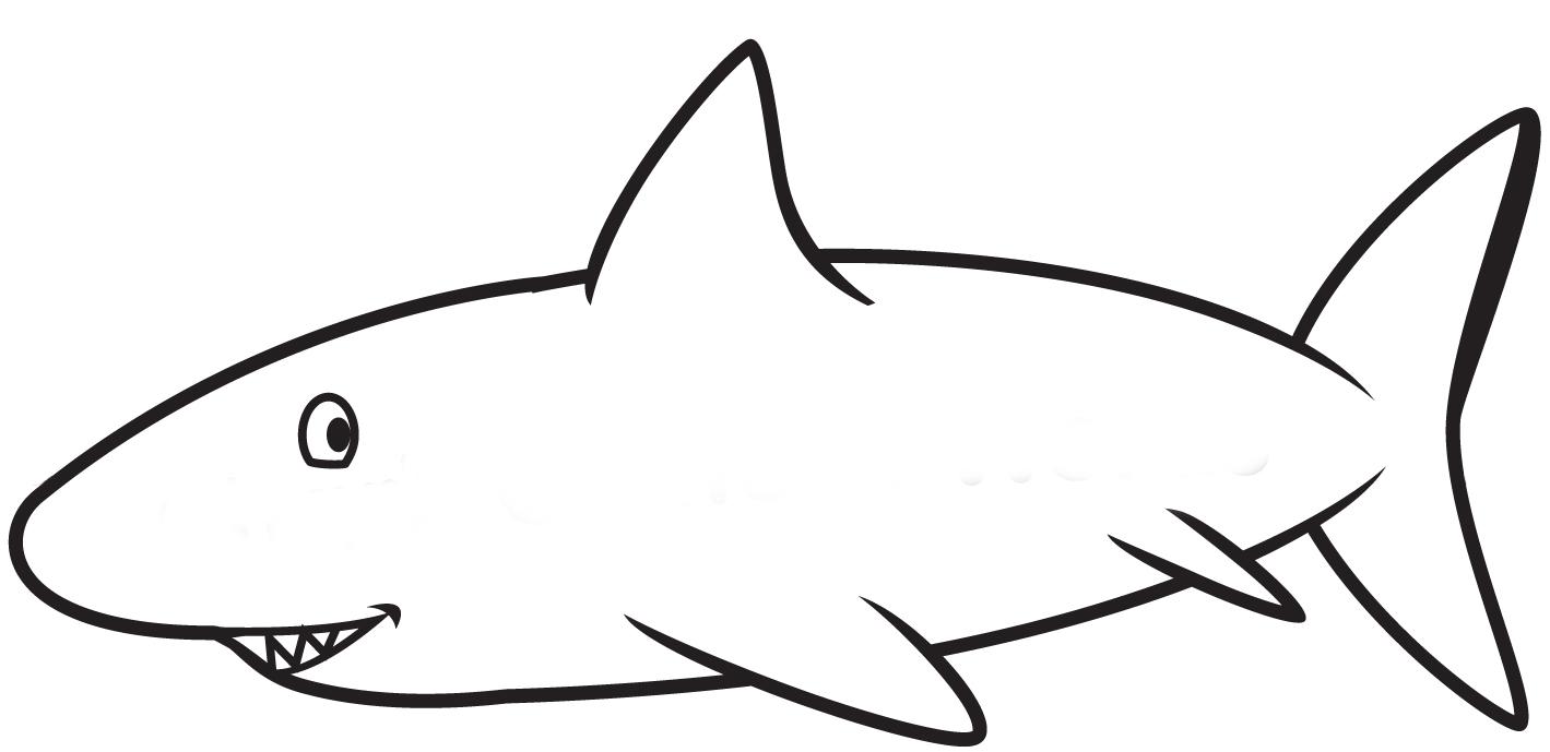 Shark Template Clipart Best