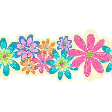 Flower Border Line Clipart Best