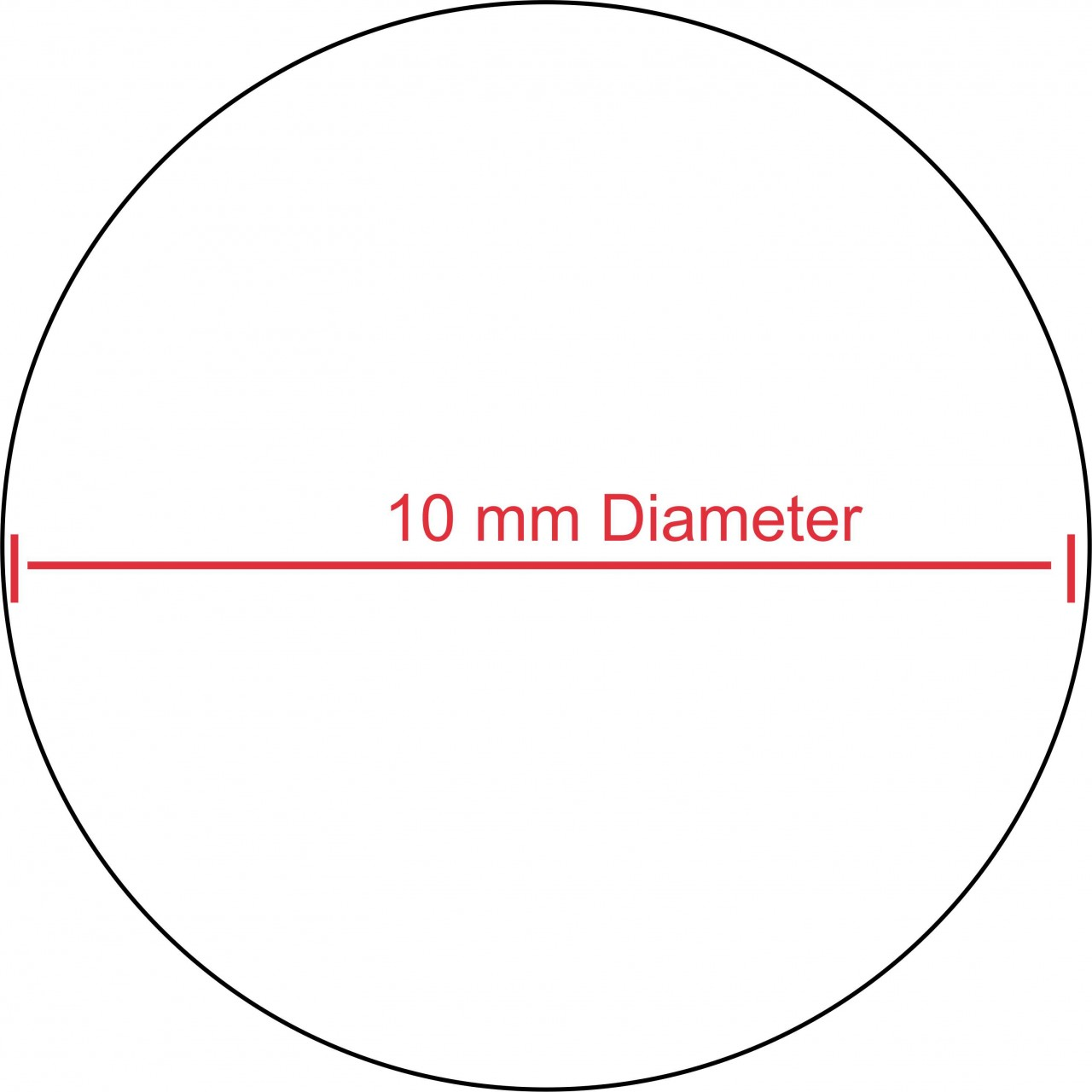 Dynamic image in 10 inch circle template printable