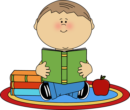 clipart child reading - photo #2