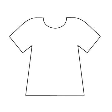 template for football shirt cake clipart best With football t shirt cake template