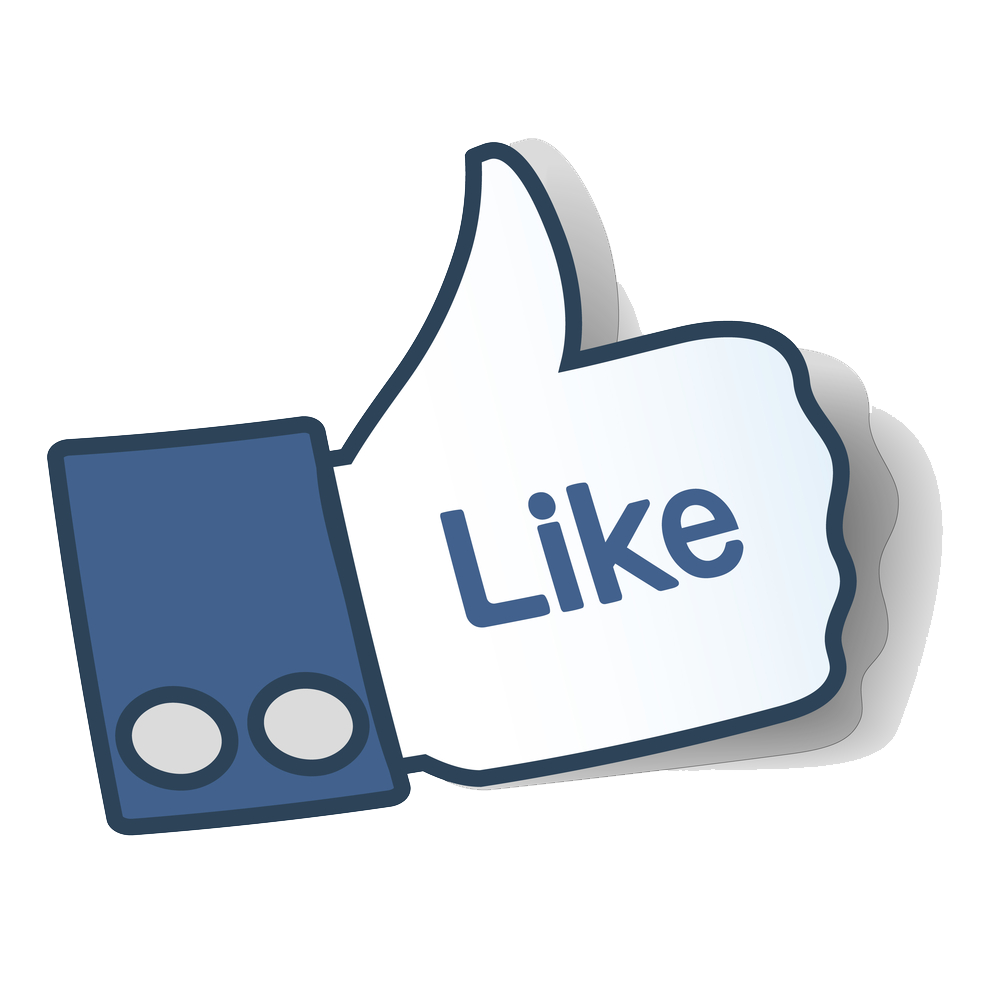 Facebook Like Thumbs Up Png - ClipArt Best