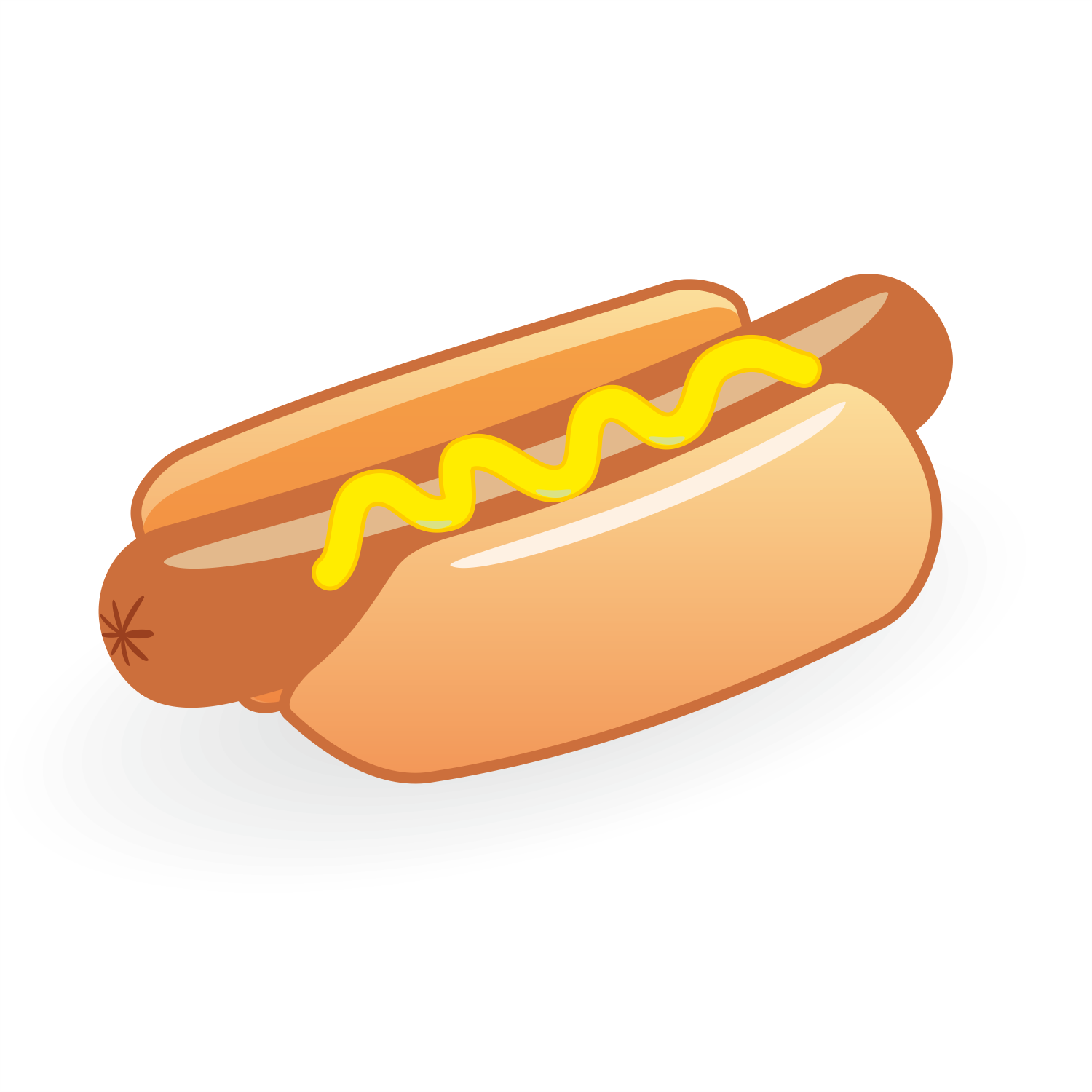 Hotdog Vector - ClipArt Best
