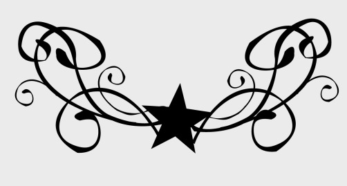star and swirl tattoo designs clipart best. Black Bedroom Furniture Sets. Home Design Ideas