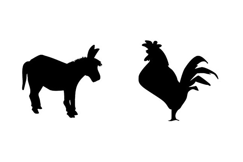 Animal Silhouettes | Spots (Illustration) by Los Angeles Designer ...