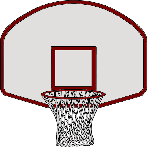 Basketball Hoop Clipart