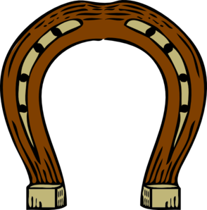 Horseshoe clip art - vector clip art online, royalty free & public ...