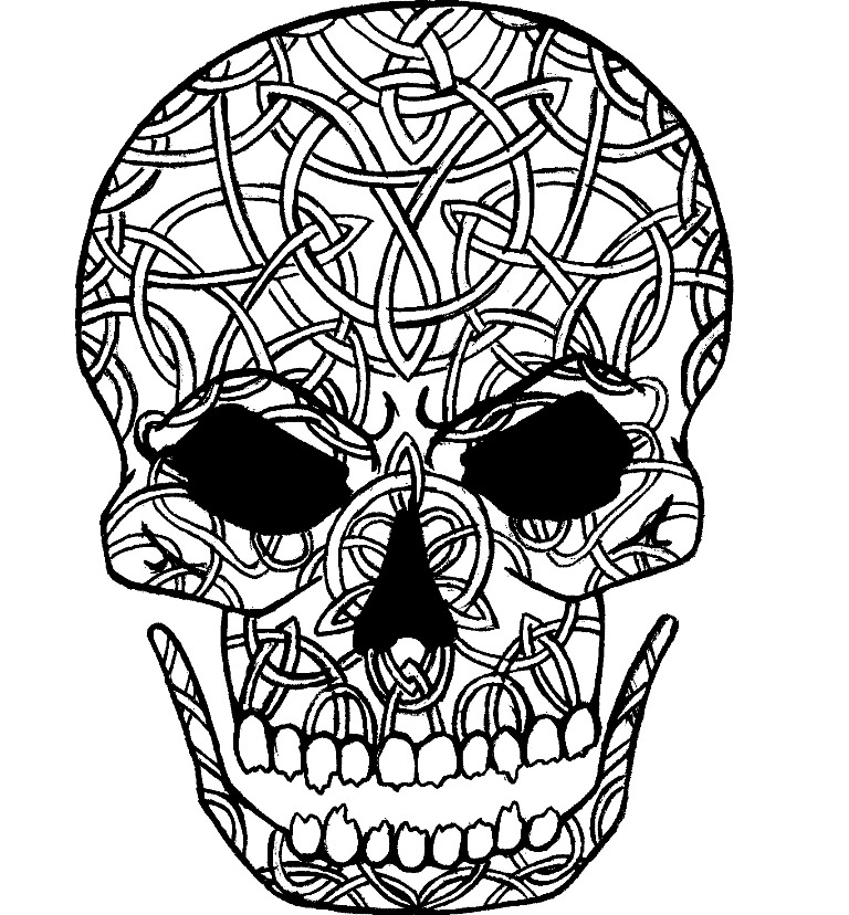 celtic skull clipart best clipart best. Black Bedroom Furniture Sets. Home Design Ideas