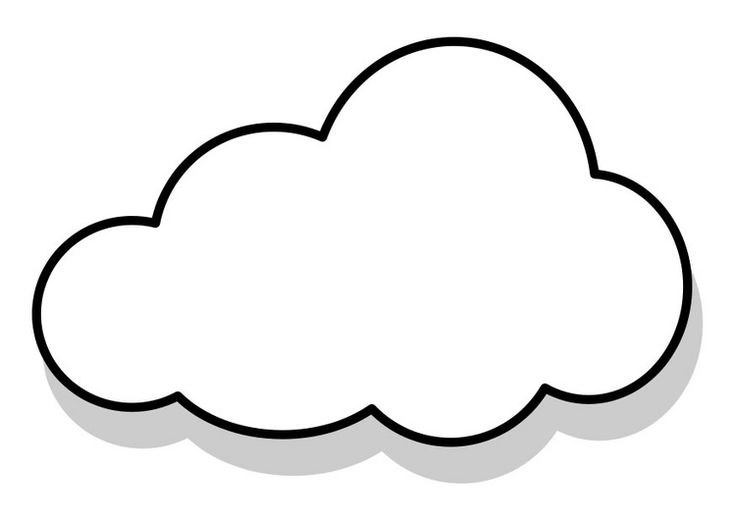 coloring pages of clouds - photo#14