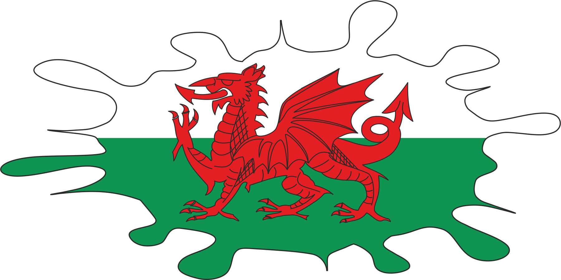 clipart welsh flag - photo #10