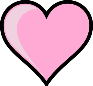 Pink Heart clip art - vector clip art online, royalty free ...: www.clipartbest.com/pinkes-herz