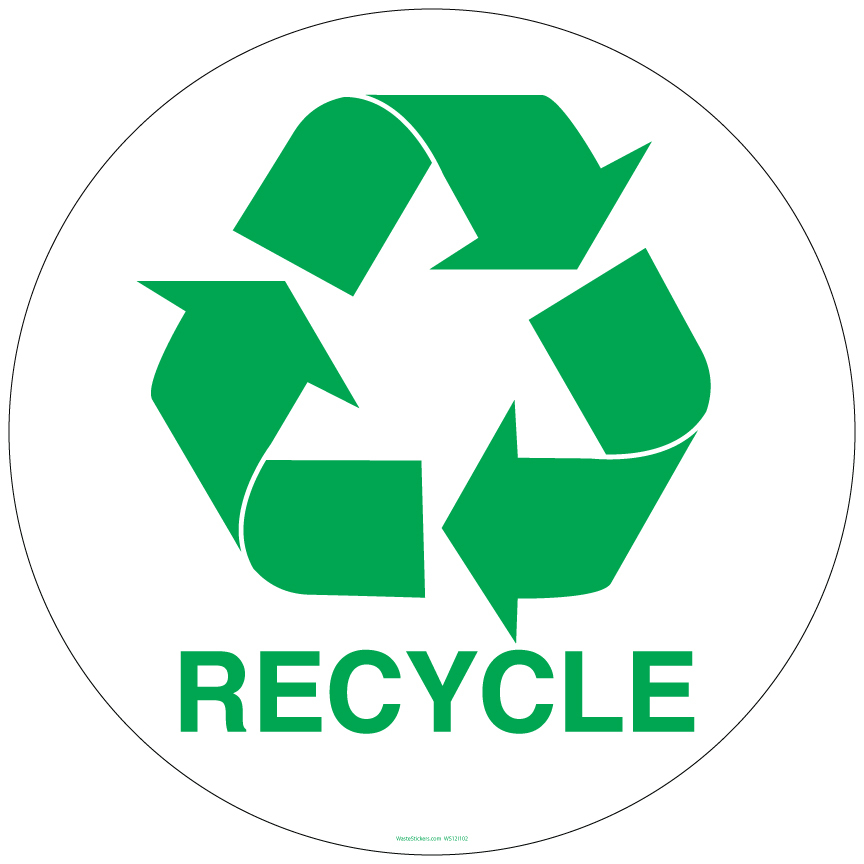 Recycle symbol stencil clipart best for Recycle stencil printable