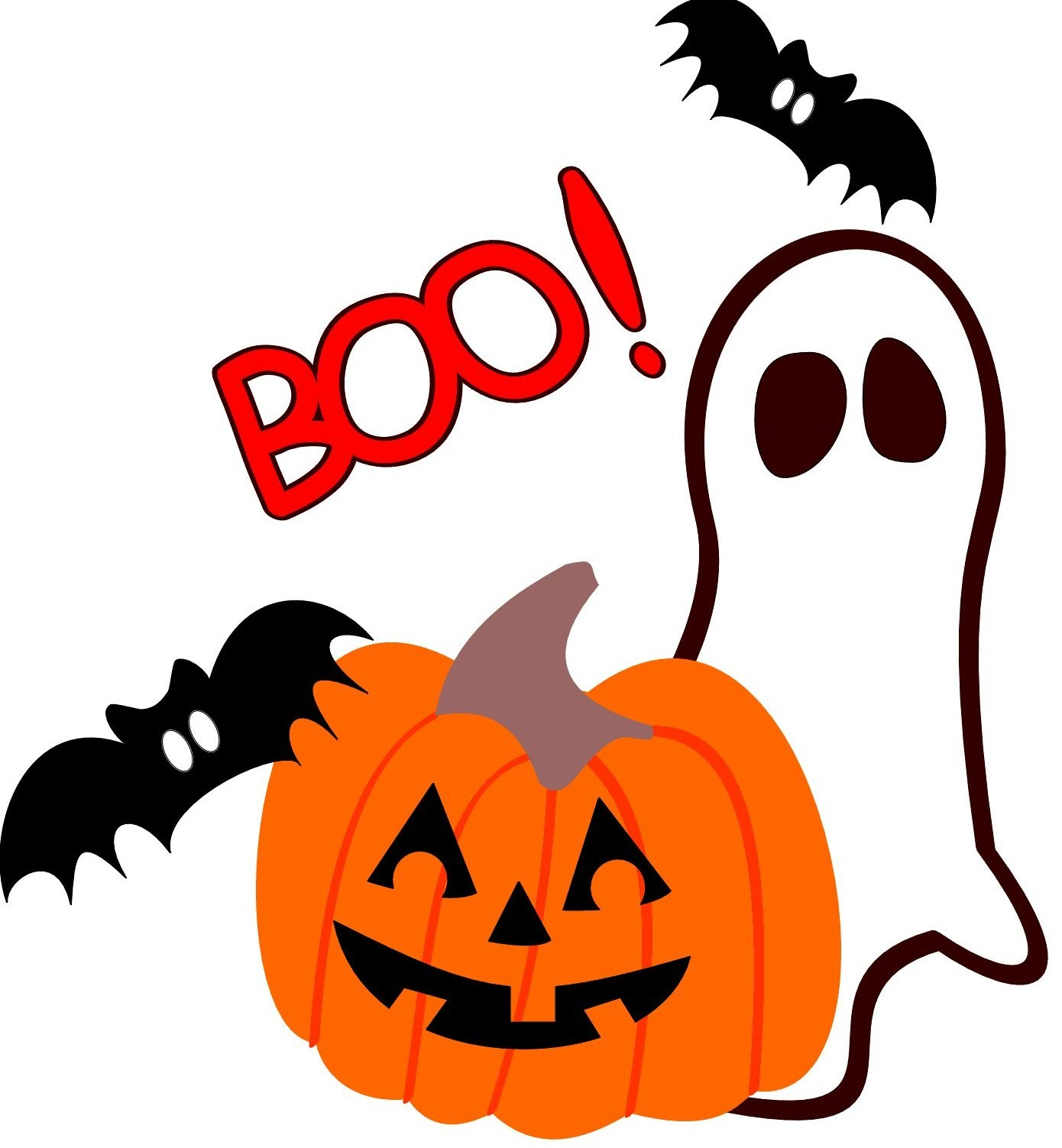 Halloween clipart cute ghost