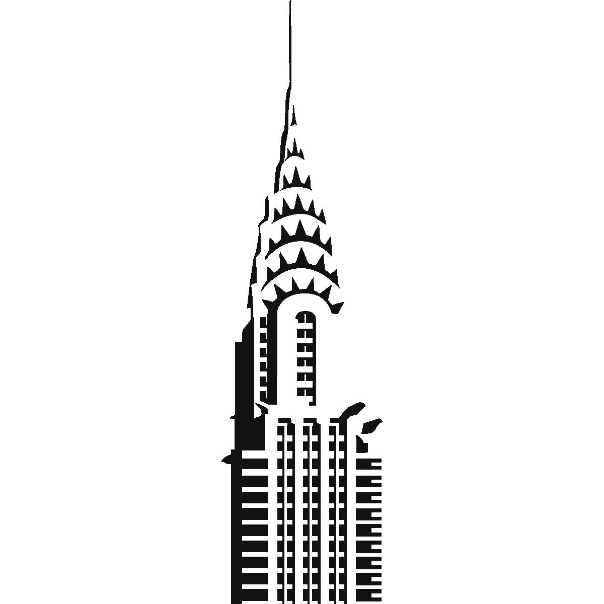 Chrysler Building Vector - ClipArt Best