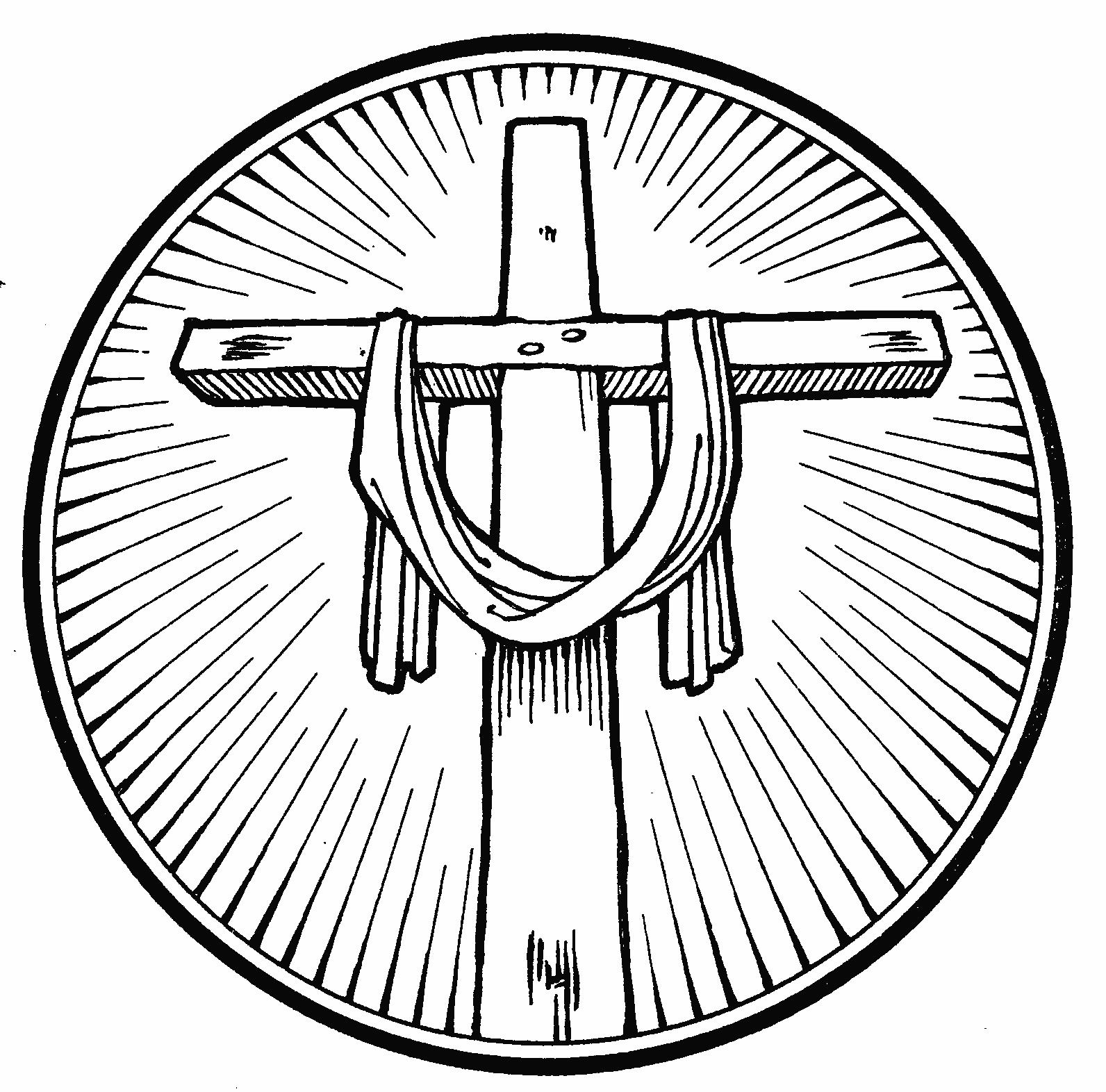 Black And White Easter Cross Clip Art - ClipArt Best