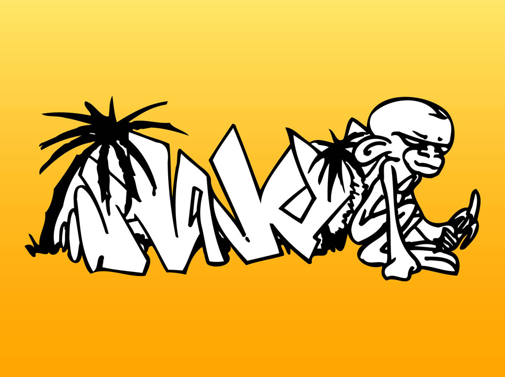 Graffiti Vector Art ClipArt Best