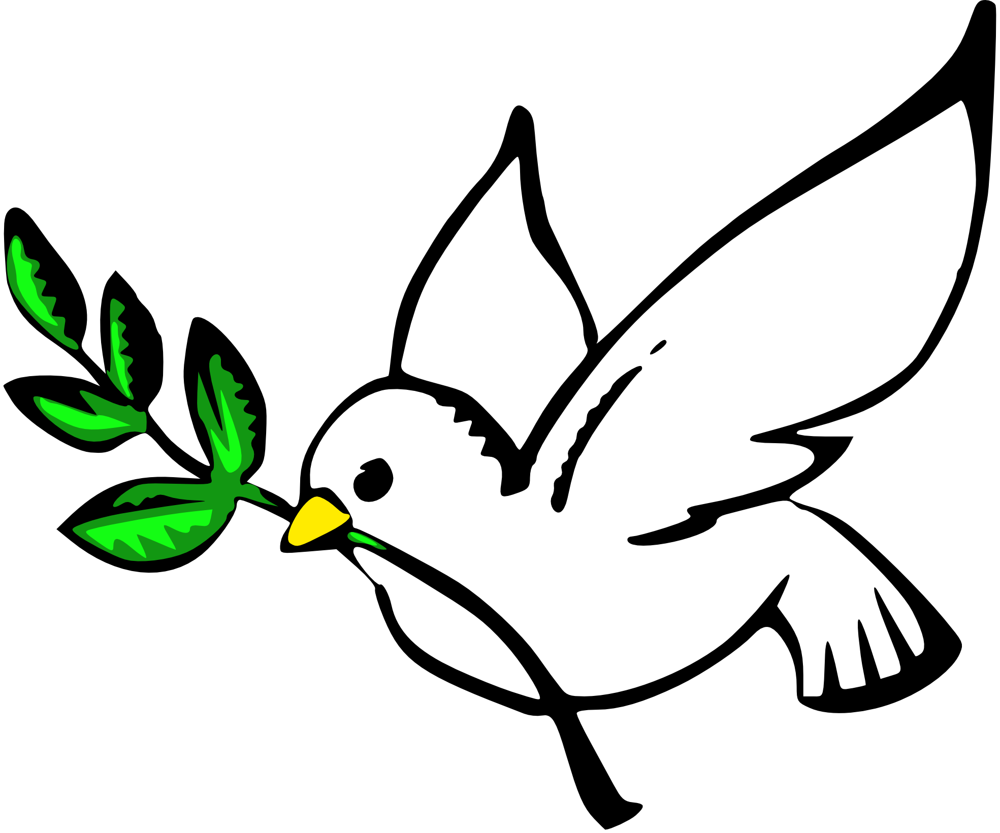 Clipart doves free