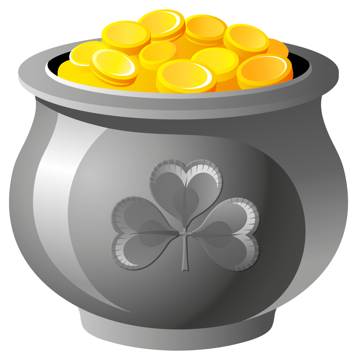 picture of a pot of gold clipart best